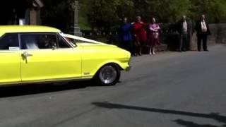Chevy nova 1965 burnout