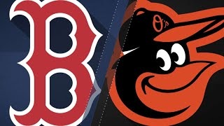 Red Sox sweep O