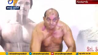 Body Building Compititions To Police Held  In Guntur Dist