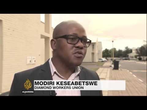 9717 economics Al Jazeera Botswana's diamond industry losing its sparkle