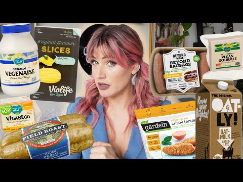 20 BEST VEGAN ALTERNATIVES (that you can buy in most grocery stores)