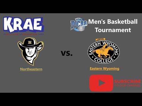 Eastern Wyoming College vs. Northeastern Junior College MBB on 1480 KRAE