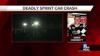 Video: Sprint car racer Greg Hodnett killed at York County track