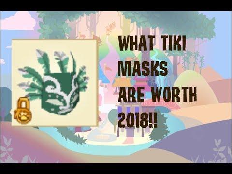 WHAT TIKI MASKS ARE REALLY WORTH (2018) -ANIMALJAM-