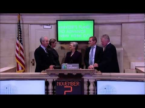 Partnership for New York City and Mayor's Fund to Advance New York City Visit the NYSE