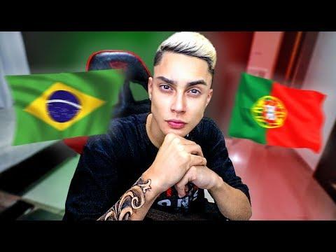 BRASIL X PORTUGAL NO ROCKET LEAGUE