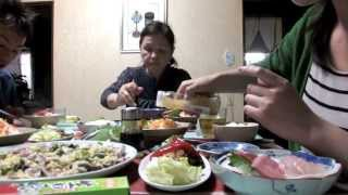 SUNDAY VLOG #21 : TIPICAL JAPANESE FAMILY DINNER