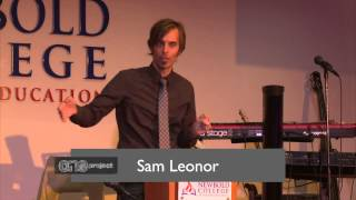 Sam Leonor - The One Project @ Newbold College