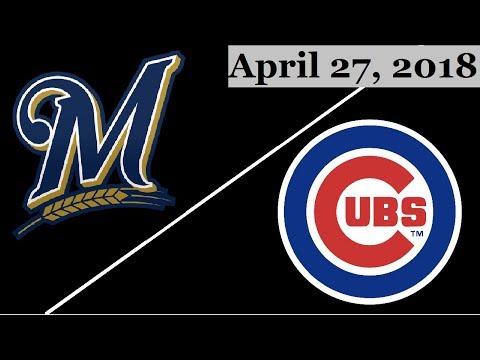 Cubs Vs Brewers April 19 2017