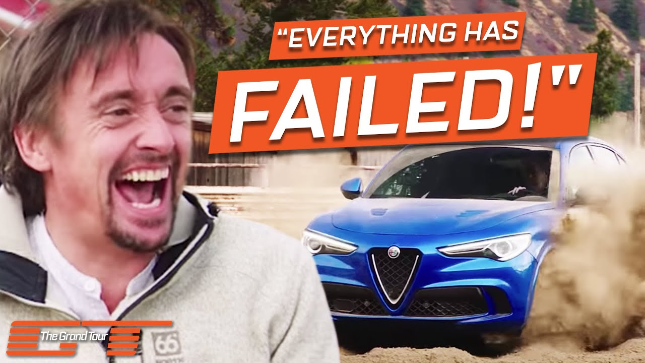 """Download Clarkson's """"Brilliant"""" Barrel Racing Idea Goes Embarrassingly Wrong   The Grand Tour"""