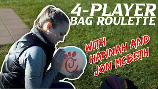 Disc Golf Bag Roulette with Jon and Hannah McBeth