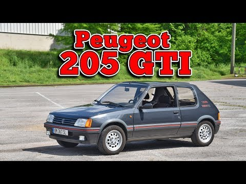 1986 Peugeot 205 GTI: Regular Car Reviews