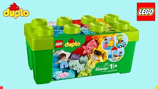 LEGO DUPLO Brick Box 10913 (Building & Unboxing ASMR)