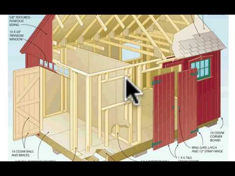 Download Your FREE Storage Shed Plan -  Should You Buy Or B