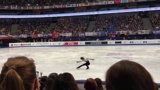 羽生結弦 Yuzuru Hanyu Helsinki Worlds 2017 Free Skating 1/4/2017