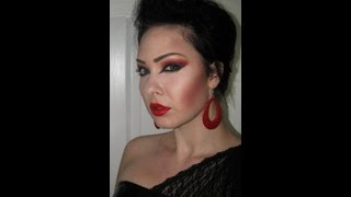 Gothic make up with an arabic twist tutorial