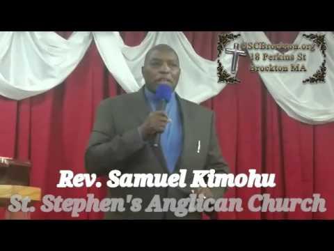Rev. Samuel Kimohu. Marriage Counseling Session.