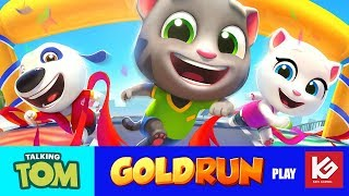 Talking Tom Gold Run Video - Talking Tom Gold Run Funny game play