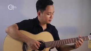 "Solo guitar acoustic | ""Đắp mộ cuộc tình"" | Văn Anh |"