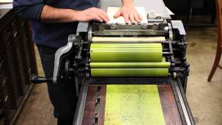 Stratography. or letterpress pressure printing