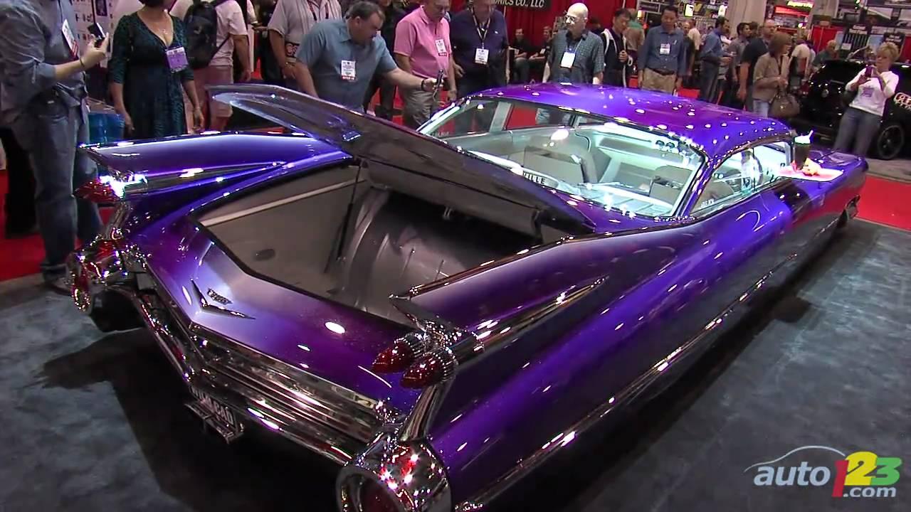 Custom 1959 Cadillac Coupe De Ville At Sema 2010 Youtube