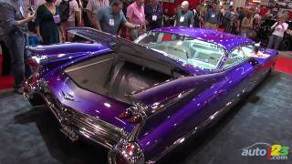 Custom 1959 Cadillac Coupe De Ville at SEMA 2010