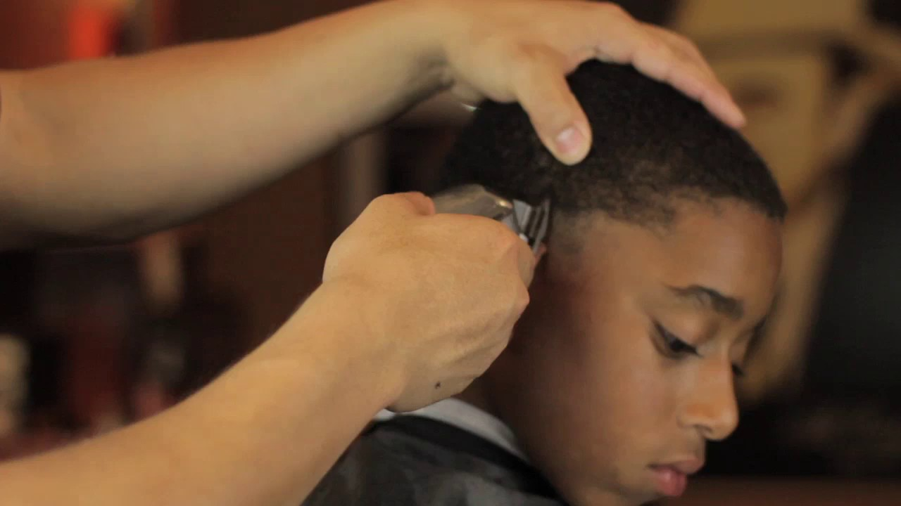 Low Bald Fade Wfoxtail Hair Cut Tutorial Youtube