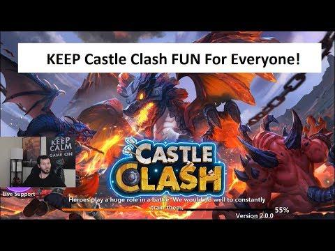 IGG Castle Clash THE PLAYERS NEED YOU!   ONETIME