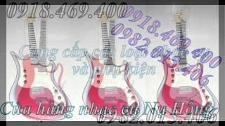 guitar dien phim lom, guitar co dien gia re, ban dan guitar phim lom gia re tai go vap 0982.013.406
