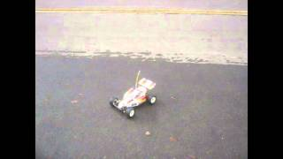 vintage kyosho optima mid rc race car buggy 1 10 scale rtr