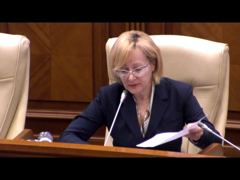 Şedinţa Parlamentului Republicii Moldova 2.11.2017