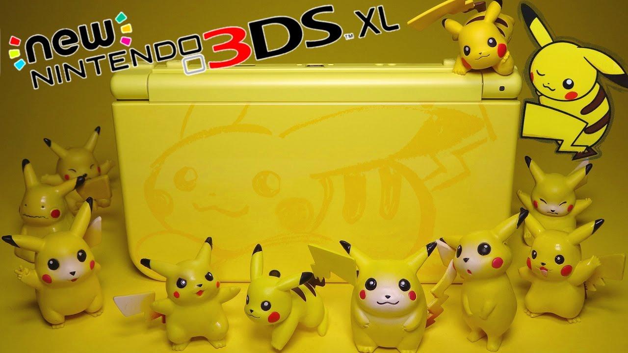 Nintendo 3ds xl (pikachu yellow edition).