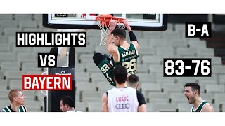 Panathinaikos - Bayern 83-76 | Panathinaikos Highlights • Euroleague Round 11 | 27.11.2020