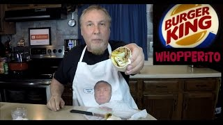 Burger King Whopperito Review