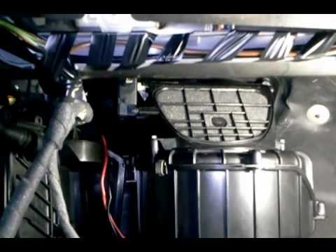 2006 Audi A4 Fuse Box Location Testing The Operation Of The Recirculating Door Flap On