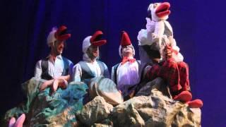 בת הים הקטנה המחזמר the little mermaid musical israel positoovity