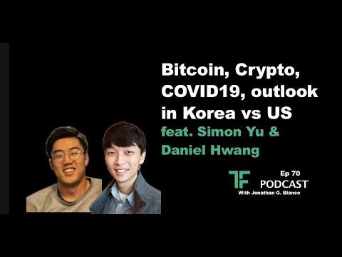 Bitcoin, Crypto, COVID19, outlook in Korea vs US