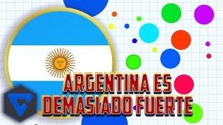 CONQUISTANDO EL MUNDO CON ARGENTINA! AGAR.IO !