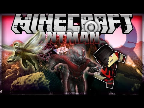 Minecraft: Mod Showcase [UPDATE] - Ant Man Mod [WELCOME TO PYMTECH