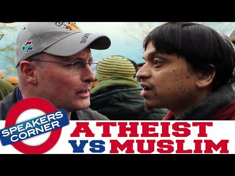 Atheist vs Muslim | Intelligent Design vs Cause & Effect | Speakers Corner