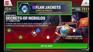 TRANSFORMERS: EARTH WARS - NEW STORY MODE - CAMPAIGN 5 - SECRETS OF NEBULOS part 3
