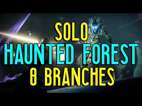 Solo 8 Branches of Haunted Forest | Festival of the Lost | Destiny 2