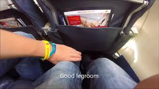 Air Nostrum Economy CRJ1000 flight report Casablanca to Madrid CRJ1000