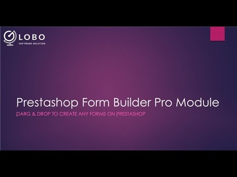 Prestashop Form Builder Pro Module - Drag & Drop to create form on Prestashop