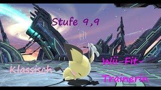 Super Smash Bros. Ultimate   Klassisch (Wii-Fit-Trainerin)   Stufe 9,9