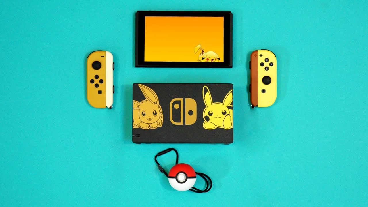 New Nintendo Switch Pokemon Let's Go Unboxing! - YouTube