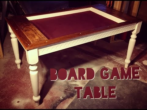 How To Make A Board Game Table