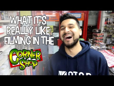 WHAT IT'S REALLY LIKE FILMING IN THE CORNER SHOP [Episode 10]