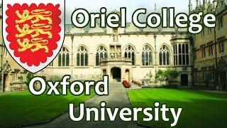 36. Ориел Колледж, Оксфордский Университет. Oriel College - University of Oxford. OxfordInside