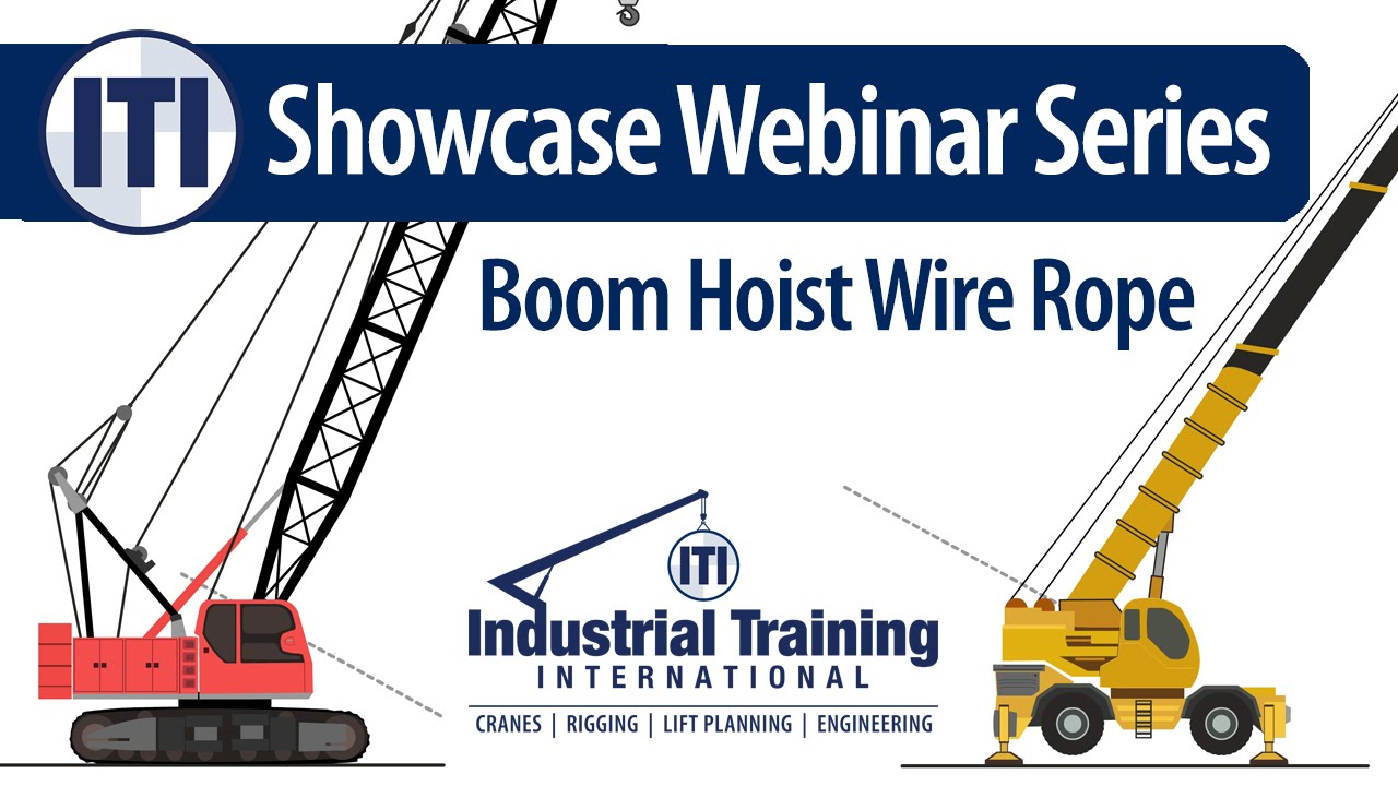 medium resolution of boom hoist wire rope on mobile cranes failures considerations